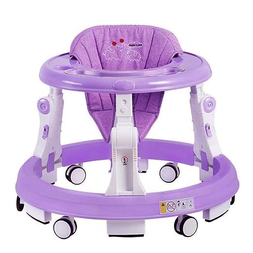 ZYP Andador para bebés, antivuelco de 6/7-18 Meses de Equilibrio ...