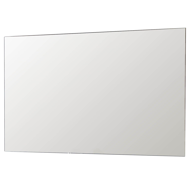 Schreiber Design Spiegel 6mm Glas mit fein polierten Kanten inkl. verdeckter Halterung für quer oder hochkant Montage 400x400 mm Schreiber Licht-Design-GmbH
