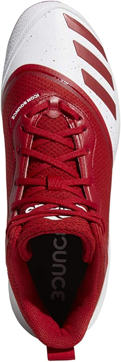 adidas Icon V Bounce Mid Baskets pour Homme Ftwr White/Power Red/Power Red