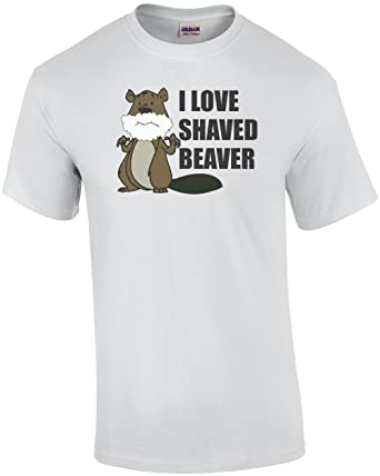 shaved shirt beaver love I