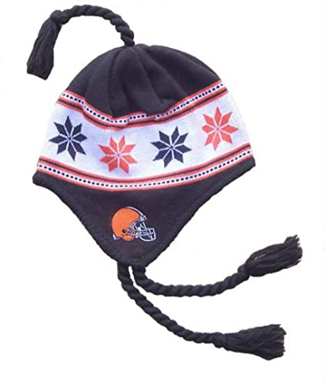b6ad71ec66a Image Unavailable. Image not available for. Color  Cleveland Browns Knit  Beanie ...