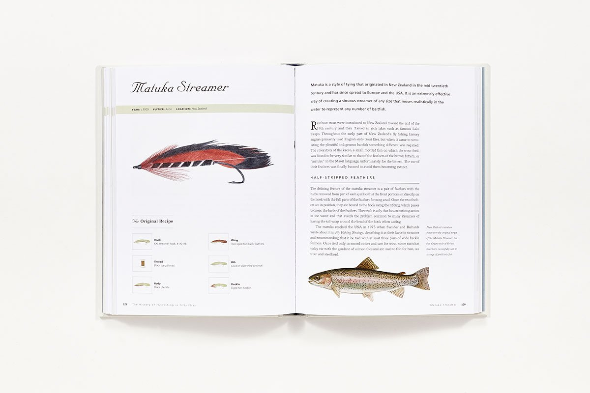 History of fly fishing in fifty flies amazon for History of fly fishing