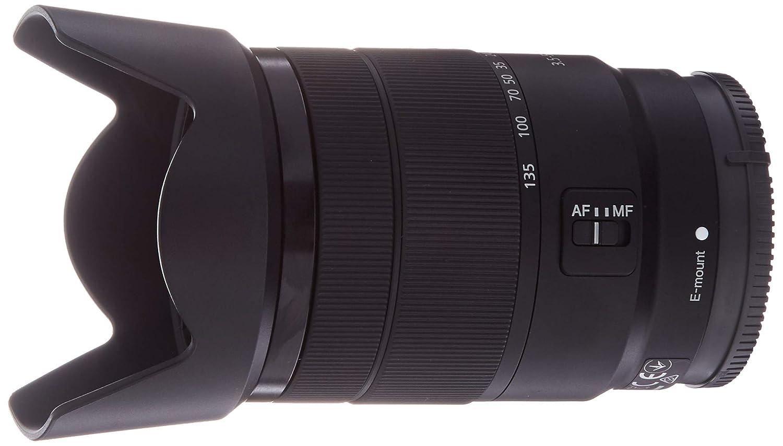 Sony 18 – 135 mm f3 . 5 – 5.6 OSS APS - Cサイズe-mountズームレンズ レンズのみ  B078T2184C
