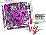 Butterfly Graffiti - Decal Style Skin fits Sony PlayStation 4 Slim Gaming Console