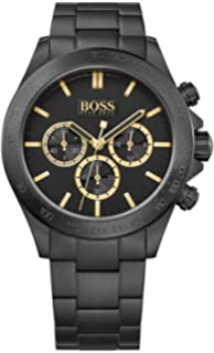 HUGO BOSS BLACK Mens Ikon Chronograph Watch, 1513278