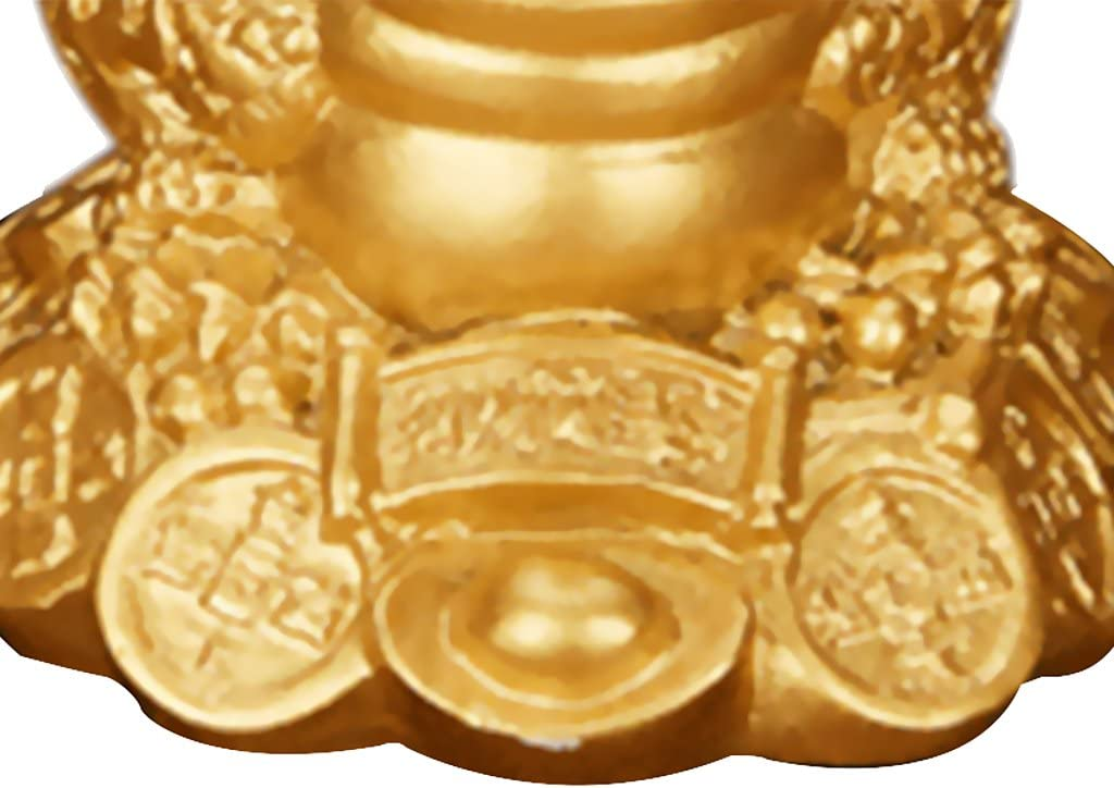 2 Pieces Lucky Money Three-Leg Toad Frog Ching Bagua Ingot Coins Fortune Decoration