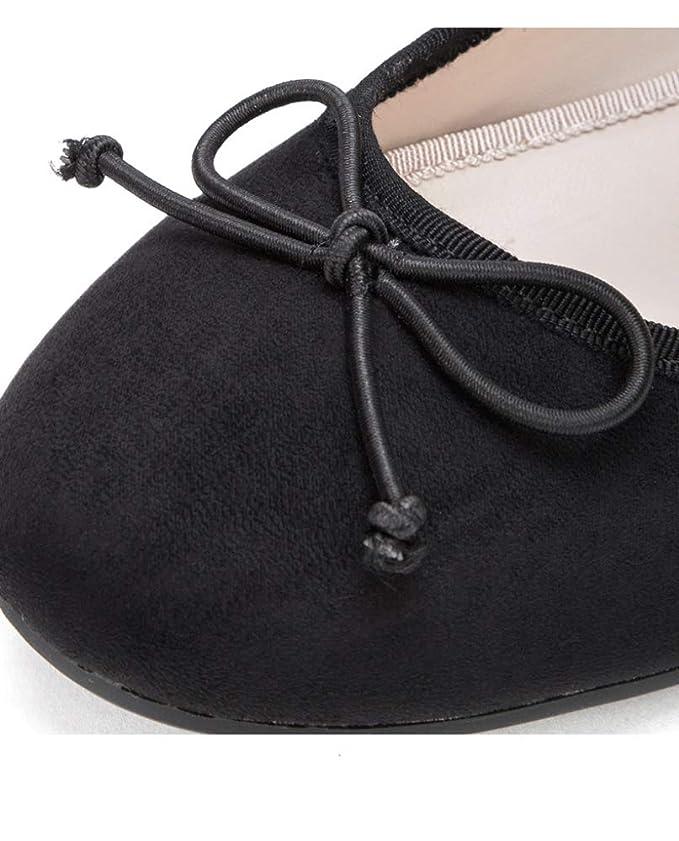 3dbf7a2465375 WFL Scarpe basse da donna autunno scarpe piccole fresche paletta  superficiale scarpe tonde scarpe casual