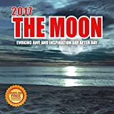 2017 The Moon Calendar - 12 x 12 Wall Calendar -210 Free Reminder Stickers