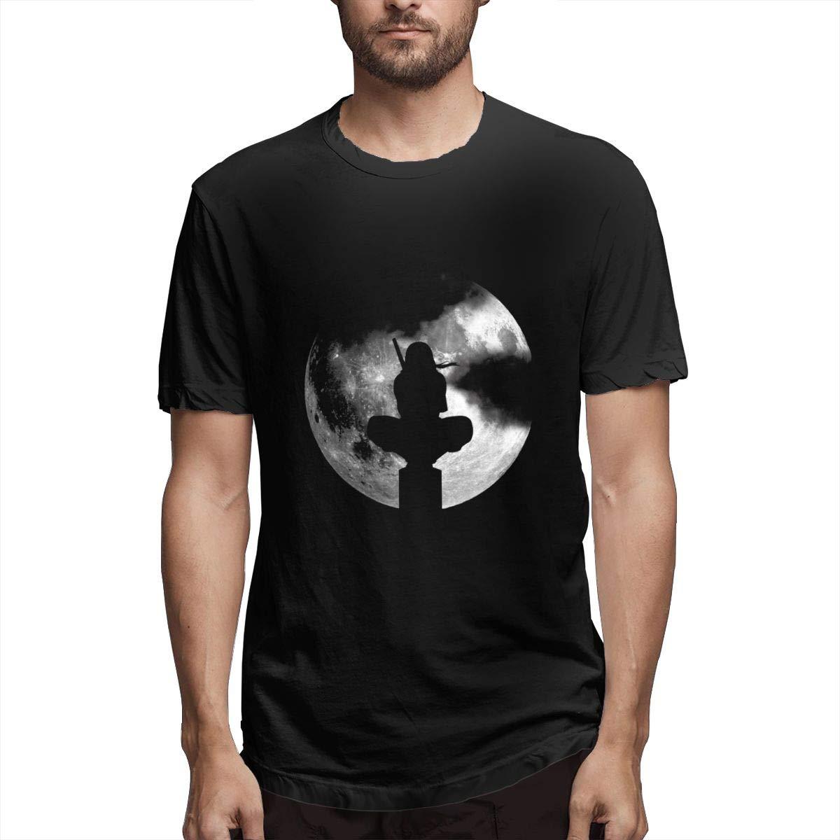 Amazon.com: Full Moon Dark Night Ninja Shadow Custom T Shirt ...