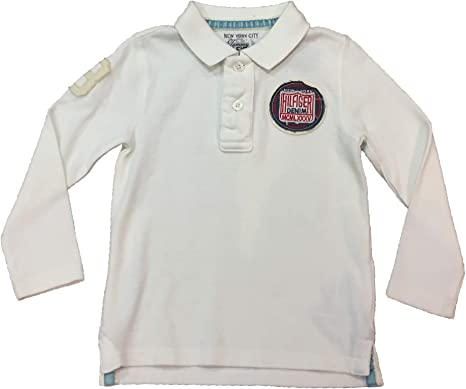 Tommy Hilfiger - Polo de Manga Larga Pilot Badge, niño, Color ...