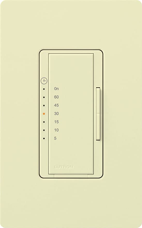Lutron MA-T530GH-LA Maestro Eco-timer, Light Almond - Wall Timer Switches - Amazon.com