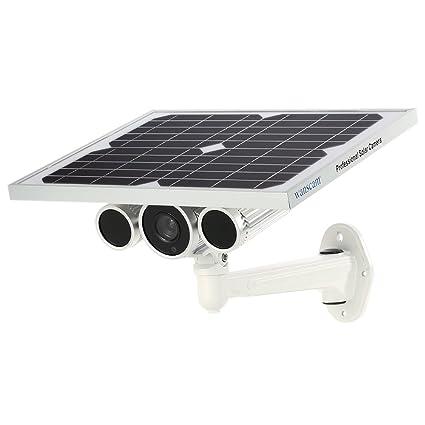 Cámara IP Solar HD1080P WiFi Cámara IP de Seguridad al Aire Libre WiFi Vigilancia doméstica inalámbrica