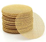 200 Pieces 100% Brass Pipe Screens, 1/2 Inch