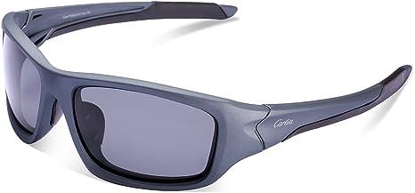 Carfia Occhiali da sole da Uomo Donna Polarizzati UV400 Protezione Occhiali da Outdoors