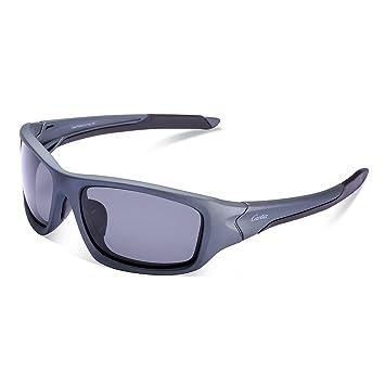 Carfia Gafas de Sol Deportivas Para Hombre y Mujer Gafas de Sol Polarizadas para Ciclismo Conducción Esquiar Golf Correr MTB C: Amazon.es: Deportes y aire ...