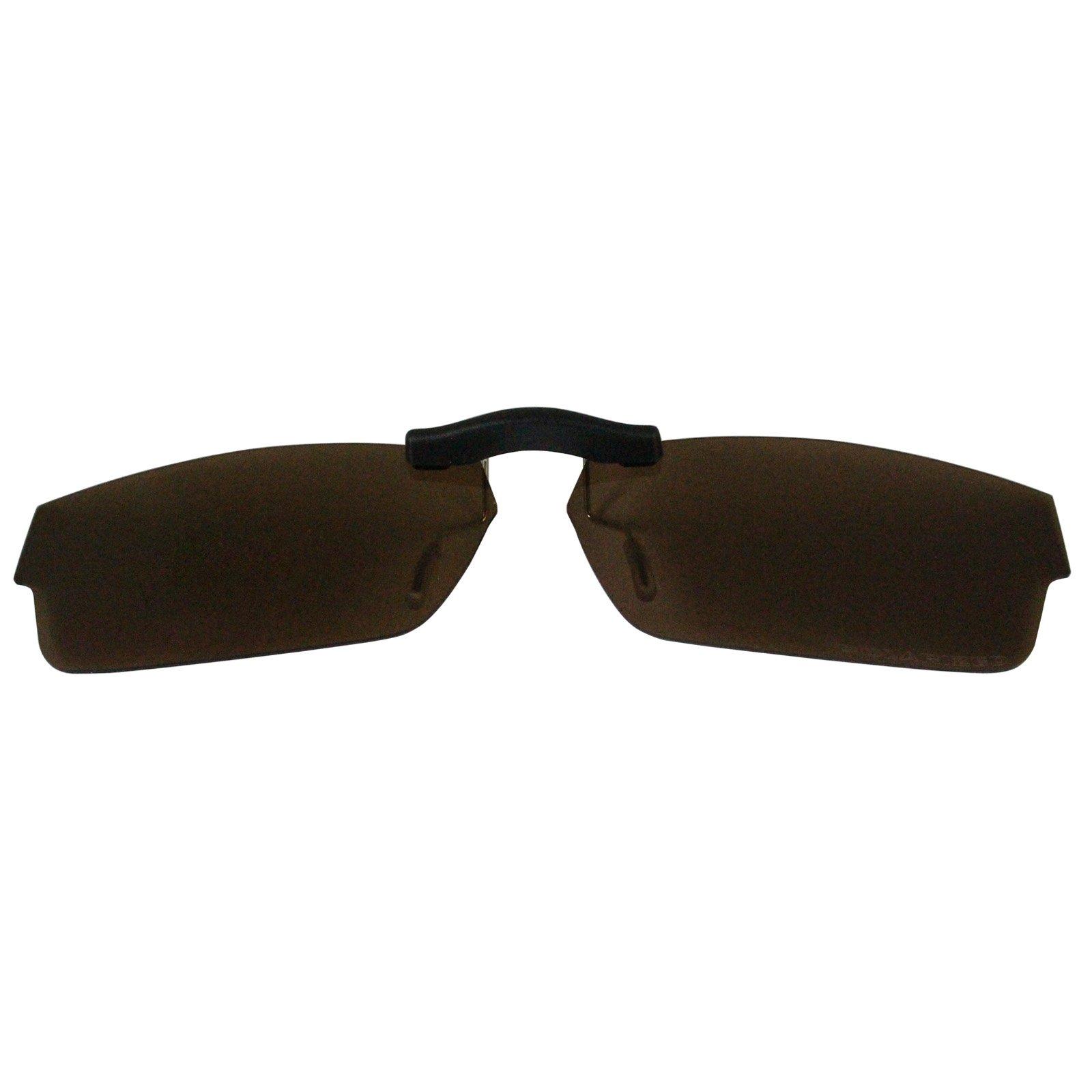 Custom Polarized Clip On Sunglasses for Oakley Servo (51) OX1066 51x18 1066(No Frame) Brown