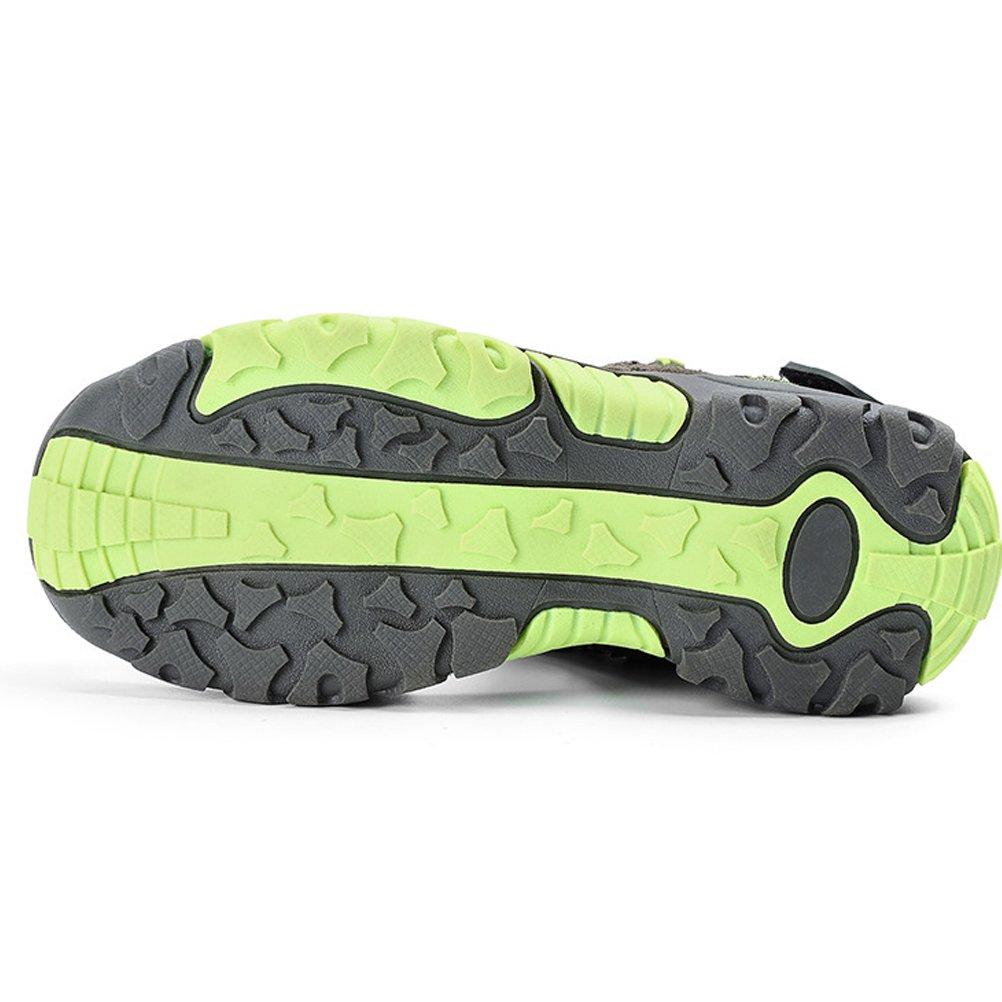 Mallimoda Boys Outdoor Strap Closed-Toe Sport Beach Sandals