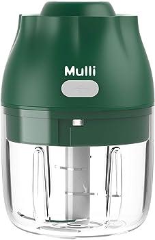 Mulli Electric Mini Food Chopper 8.45-oz