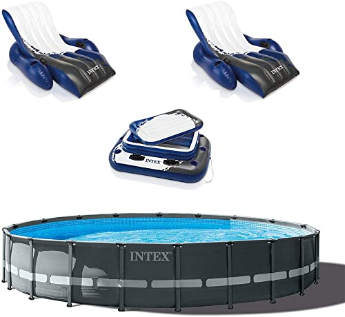 Intex 24ft x 52in Ultra XTR Round Frame Pool