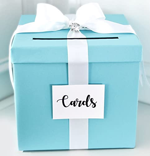 Amazon Wedding Card Box Wedding Card Money Gift Box Blue – Card Gift Box Wedding