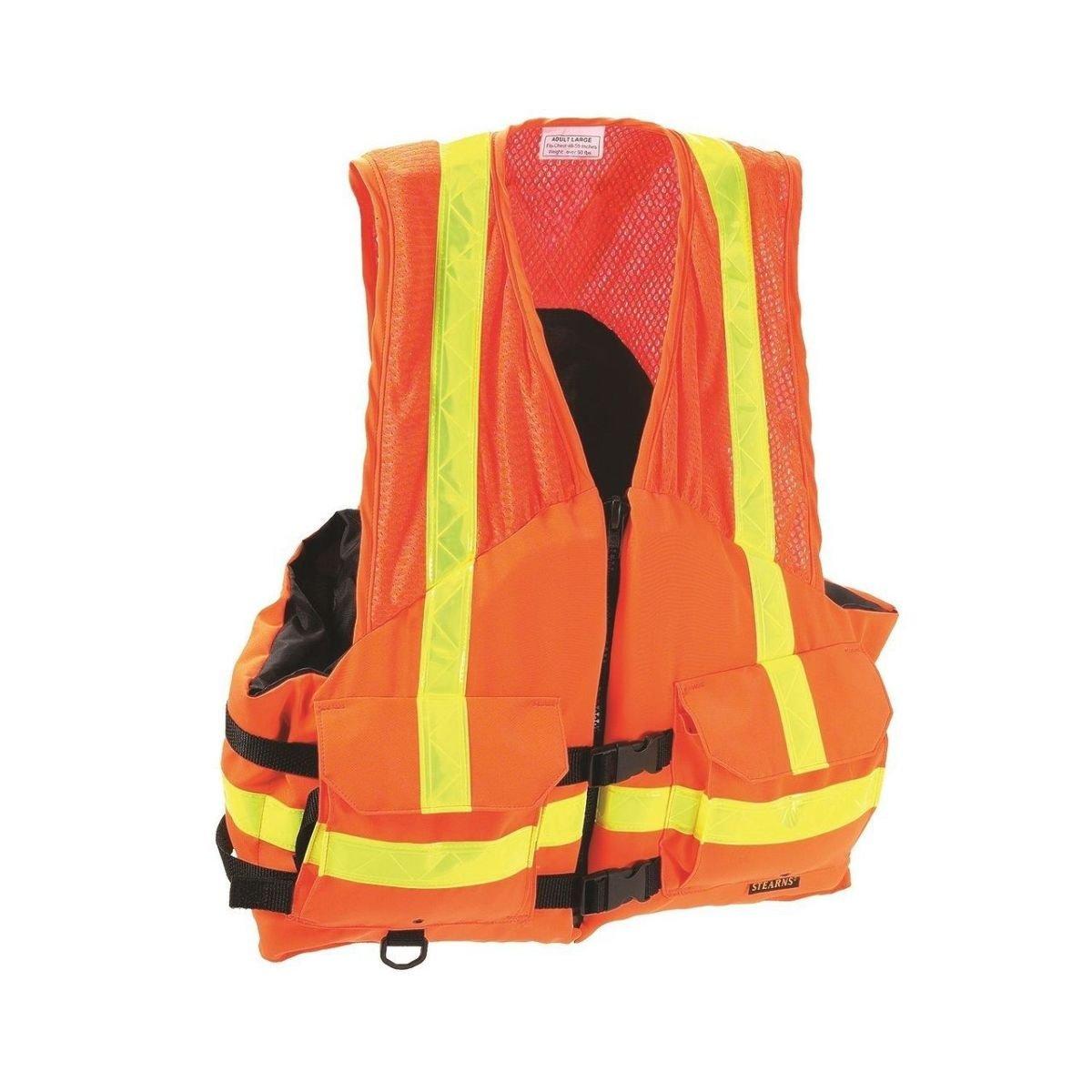 (orange, 2-xtralarge/3-xtralarge) Ergodyne GloWear 2XL/3XL Class-3 Economy Vest in Orange B003E3RPXA