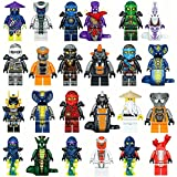 The Whole Ninja Crew: 24 Ninja minifigures with Accessories