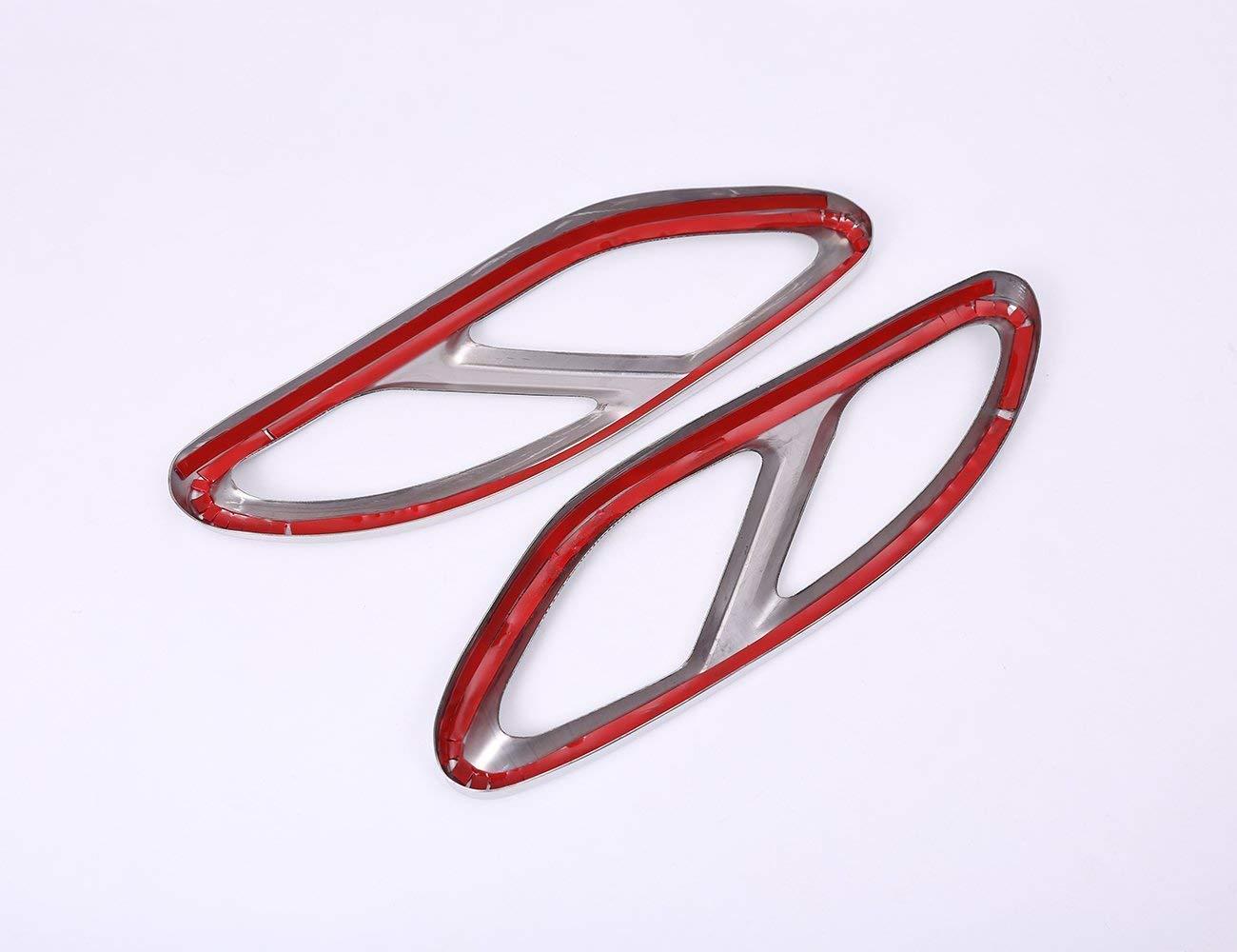 AUTO Pro per Mercedes-Benz Tailstock Trim Cover in Acciaio Inox Tubo di Scarico Gola Output Raccordi Esterni Auto
