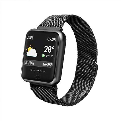 Amazon.com: P68 - Reloj inteligente con monitor de oxígeno y ...