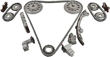 ITM Engine Components 053-94360 Timing Chain Set for 1995-2001 Nissan 3.0L V6 VQ30DE