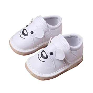 1c8138848d96 SMYTShop Newborn Baby Boys  Premium Soft Sole Non-slip Infant Prewalker  Toddler Sneaker Shoes