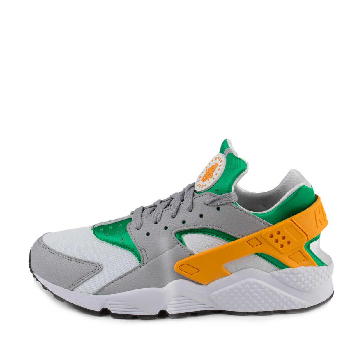 790a052f02bf Galleon - Nike Mens Air Huarache Lucid Green University Gold-Wolf Grey  Leather Size 11