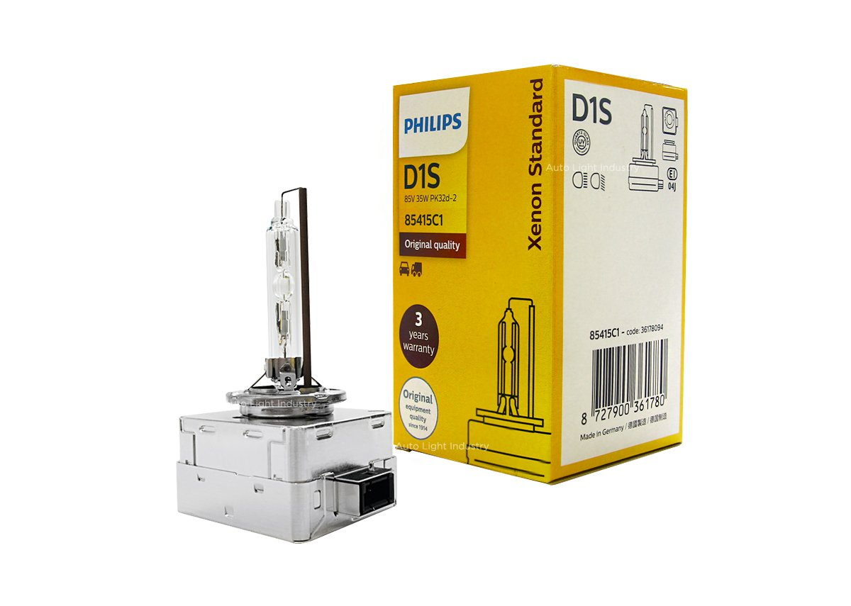 Philips Automotive Germany PHILIPS OEM 4300K D1S Bulb 85415C1 35W DOT Germany by ALI - Pack of 1