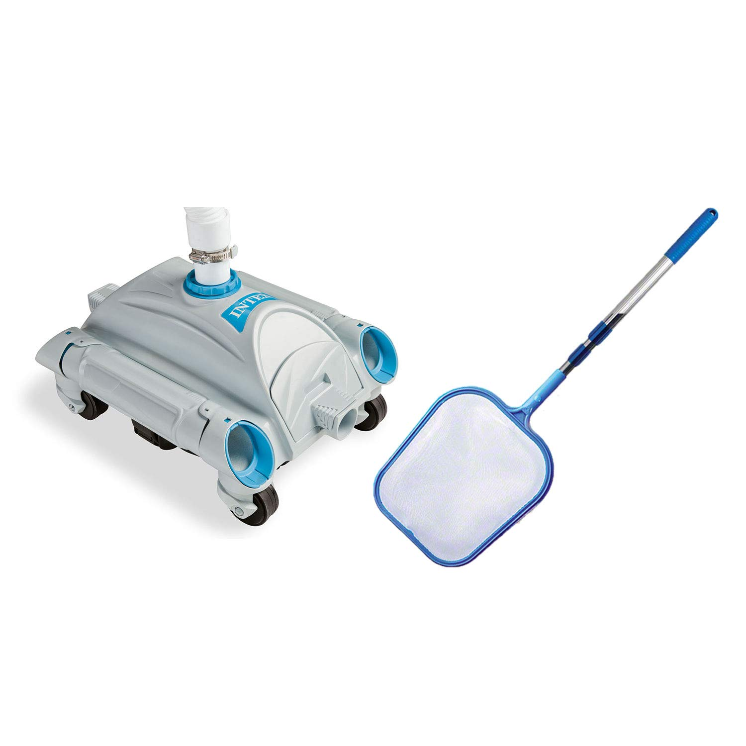 Intex Automatic Above-Ground 1,600-3,500 GPH Pool Vacuum with Pool Skimmer Net by Intex