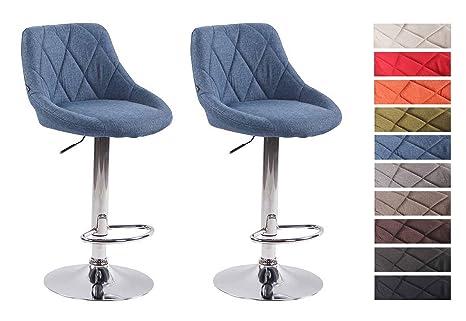 Clp sgabelli design lazio in tessuto sedie cucina girevoli e