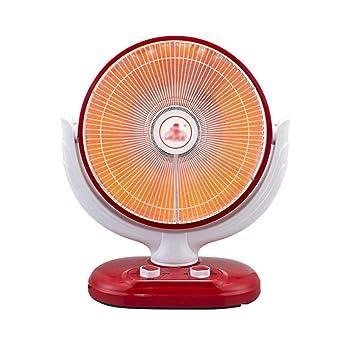 NFNF Hogar Calentador Eléctrico Pequeña Mesa De Sol Calentador Parrilla Estufa Eléctrica,Orange,Red: Amazon.es: Deportes y aire libre
