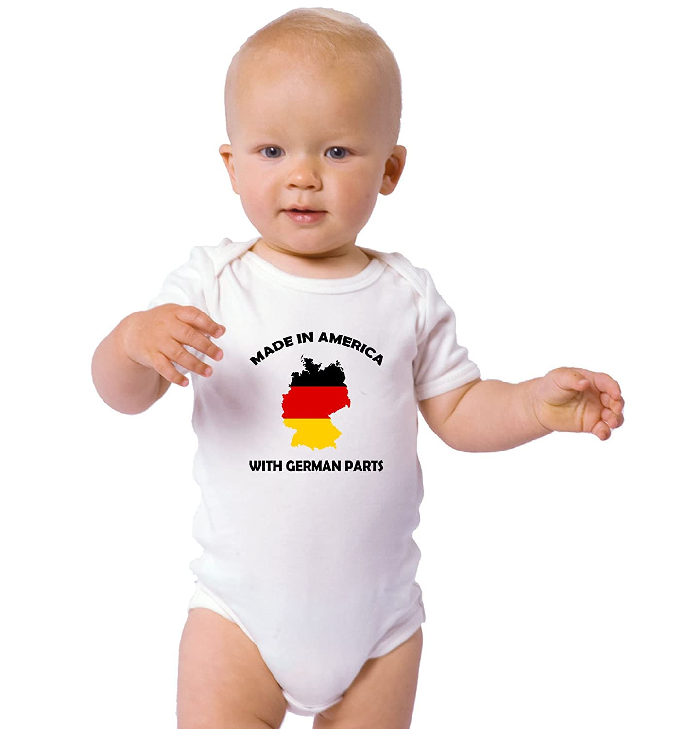 Amazon Made In America With German Parts Baby Bodysuit e