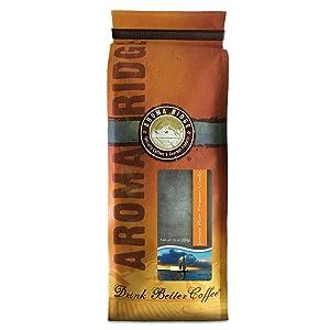 Jamaican Rum French Vanilla SWP Decaf Coffee, 1 lb Whole Bean FlavorSeal Vacuum Bag