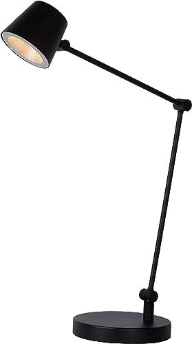 Lucide 19668 08 30 Lampada Da Scrivania Metallo 8 W Nero Amazon It Illuminazione