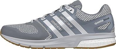 adidas Questar Boost M - Zapatillas para Hombre, Color Gris/Blanco, Talla 40: Amazon.es: Zapatos y complementos