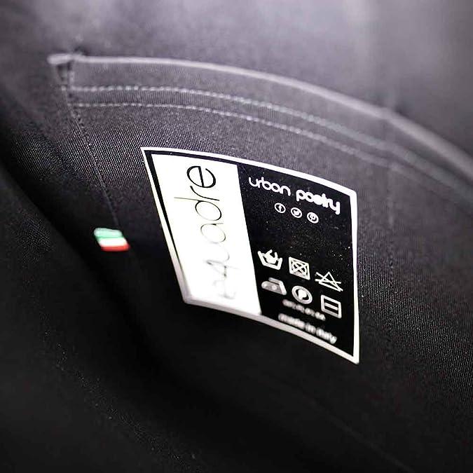 Le4uadre Maxi clutch Kuverttasche h. 24 Handtasche Neopren