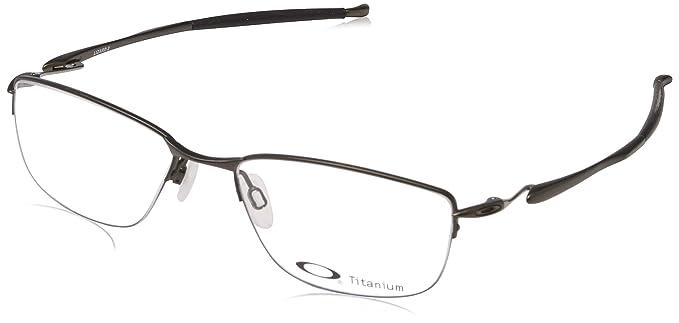 e5e933b6fe2 Oakley Montatura Crosslink Pitch (52 mm) Nero  Amazon.it  Abbigliamento