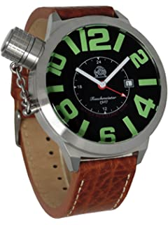 Tauchmeister Big size watch with 24hour GMT Swiss movement T0065B