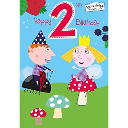 Hallmark Ben & acebo Gemma segunda tarjeta de cumpleaños ...