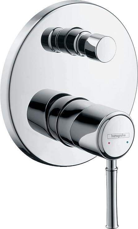 Amazon.com: Hansgrohe Talis Classic Bath Shower Mixer Tap Flush ...