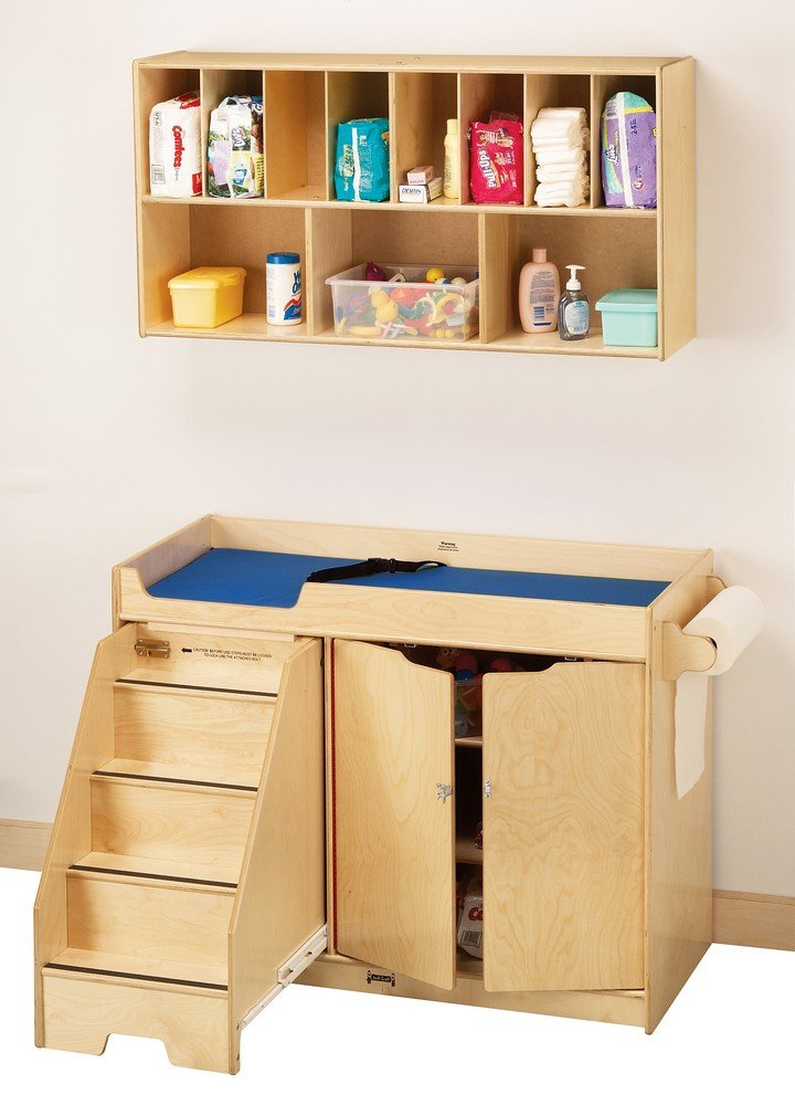 Amazon.com: Jonti Craft Changing Table W Stairs Combo: Kitchen U0026 Dining