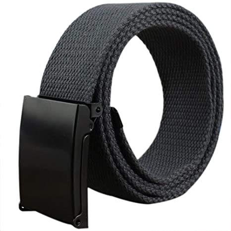 doitsa cinturón de tela tela para hombre y mujer cinturón trenzado cinturón en lienzo décontractée para jóvenes/Etudiants Size… xNV2nHuV1c