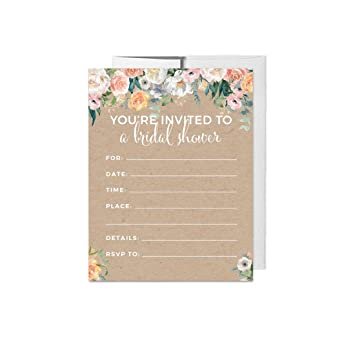 383b2af5b93a Andaz Press Peach Coral Kraft Brown Rustic Floral Garden Party Wedding  Collection