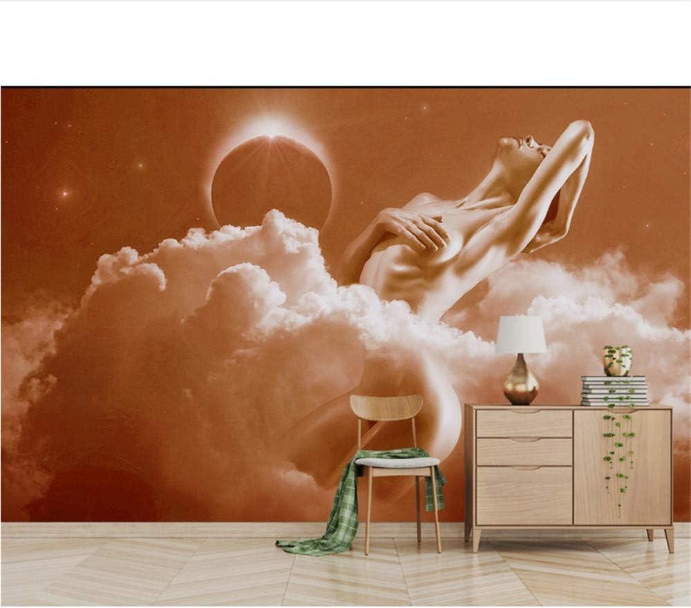 Xbwy Personalizado Mural De Pared 3D Hermoso Cuerpo Humano Sofá ...