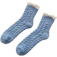 Generic Womens Winter Thick Warm Sleep Floor Socks Soft Slipper Socks