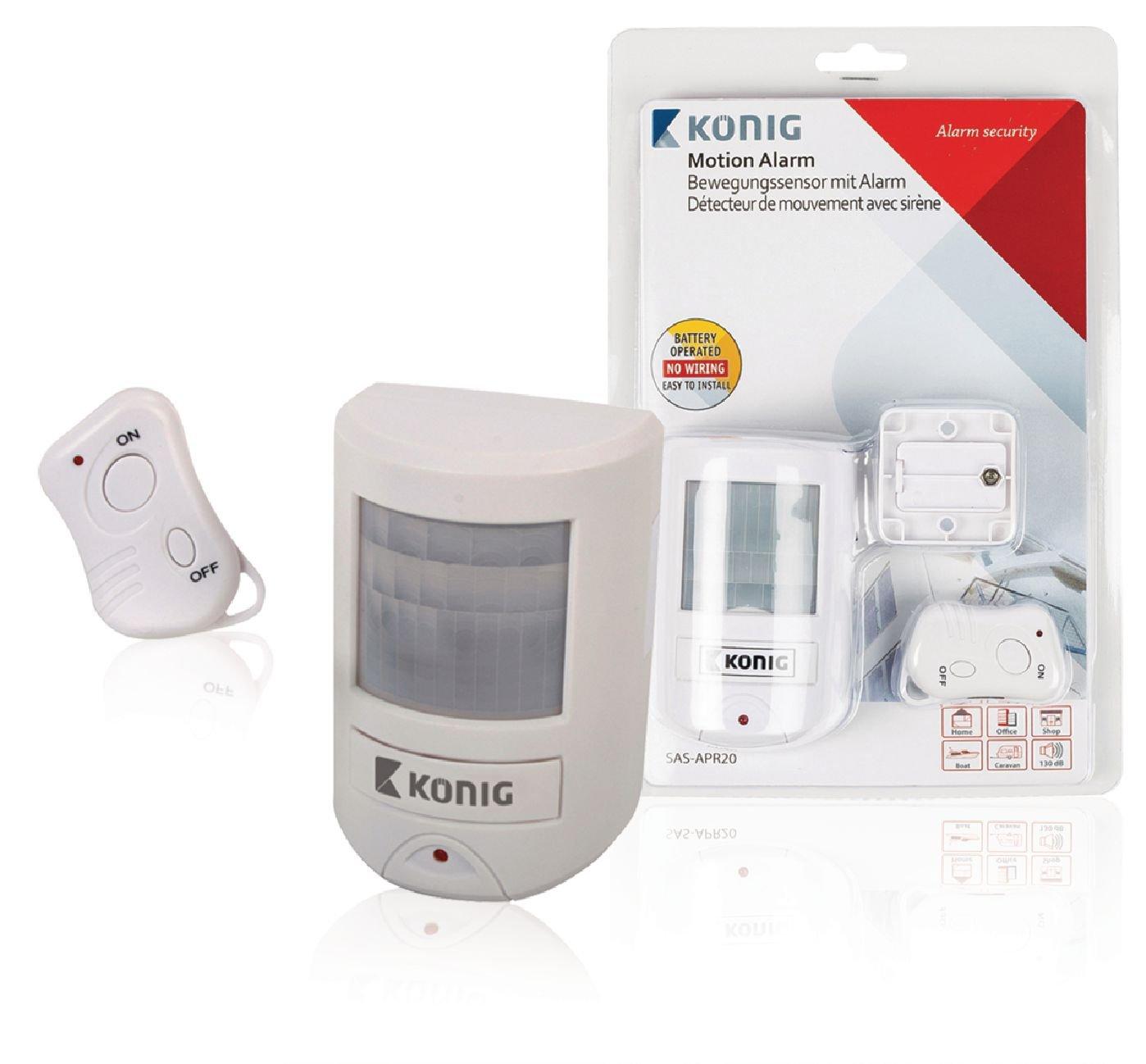 Konig SASAPR20 Detector DE Movimiento con AL: Amazon.es: Bricolaje y herramientas